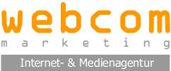 Logo webcom marketing - Internet- und Medienagentur